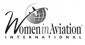 Women in Aviation International logo